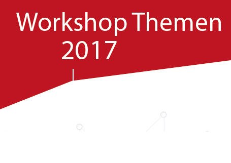 Workshop Themen 2017 vom House of Resources